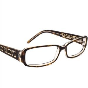 Fendi Eyeglasses Frame Tortoise on Clear F664 216